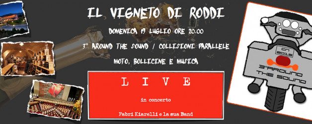 "19 luglio 2015 – musica dal vivo, gran Buffet e Bollicine ""Around the Sound"""